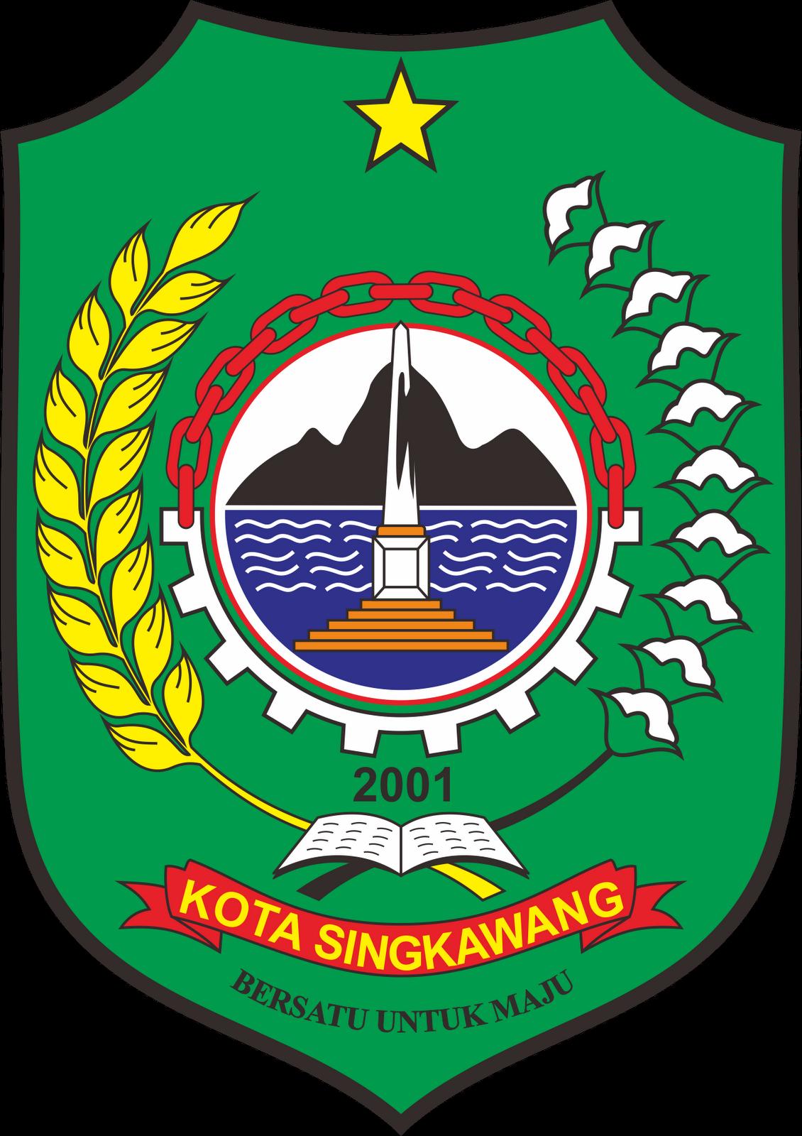 File Lambang Kotasingkawang Png Wikipedia