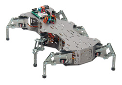 English: A 6-legged robot from Parallax, Inc.