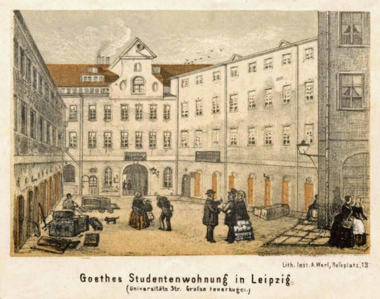 Johann Wolfgang Von Goethe –