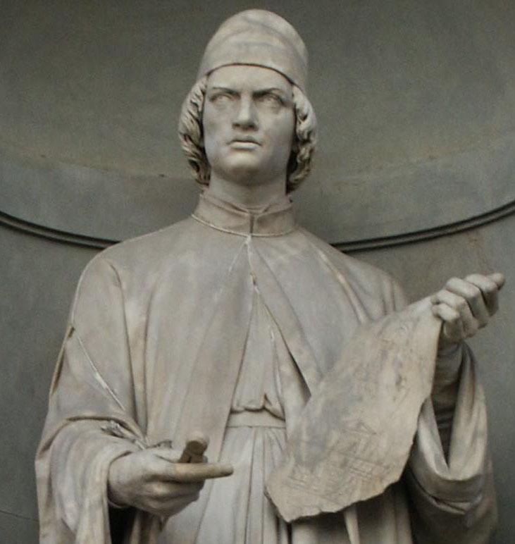 Картинки по запросу Alberti, Leon Battista statua