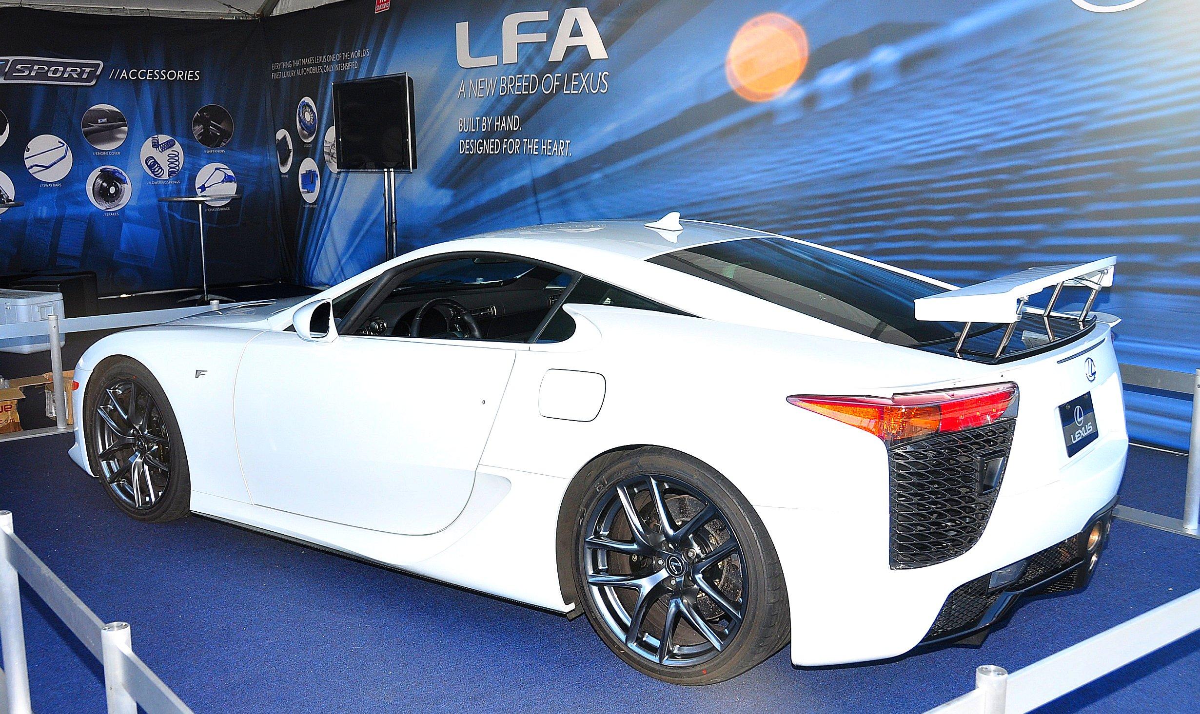 File Lexus Lfa Long Beach Toyotafest Jpg