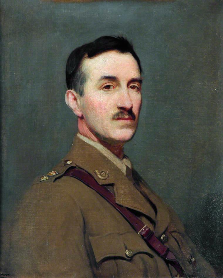 George Spencer Watson (1869-1934) Lieutenant_Colonel_Oliver_C_S_Watson,_by_George_Spencer_Watson