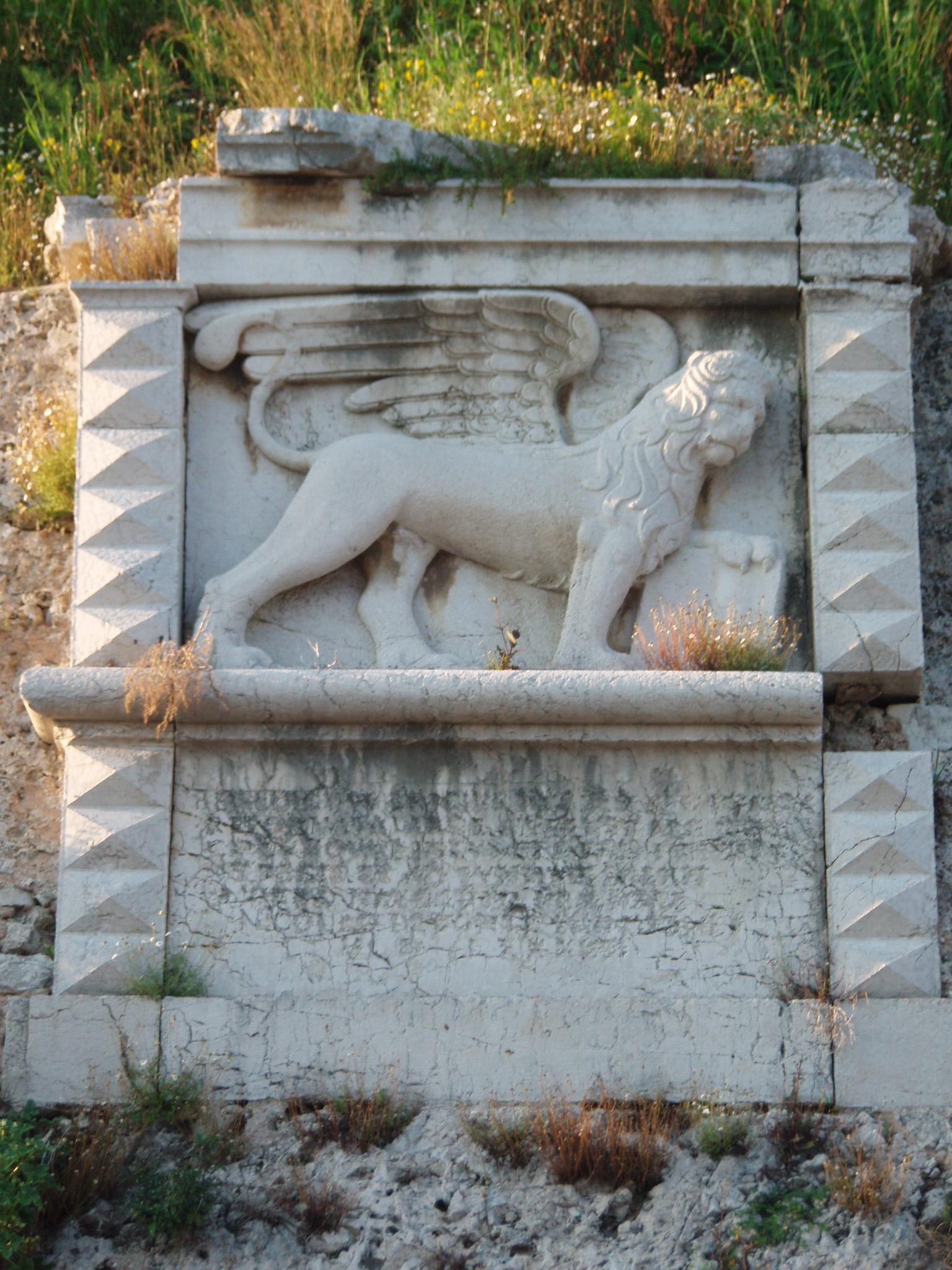 Filelion St Mark Corfug Wikimedia Commons