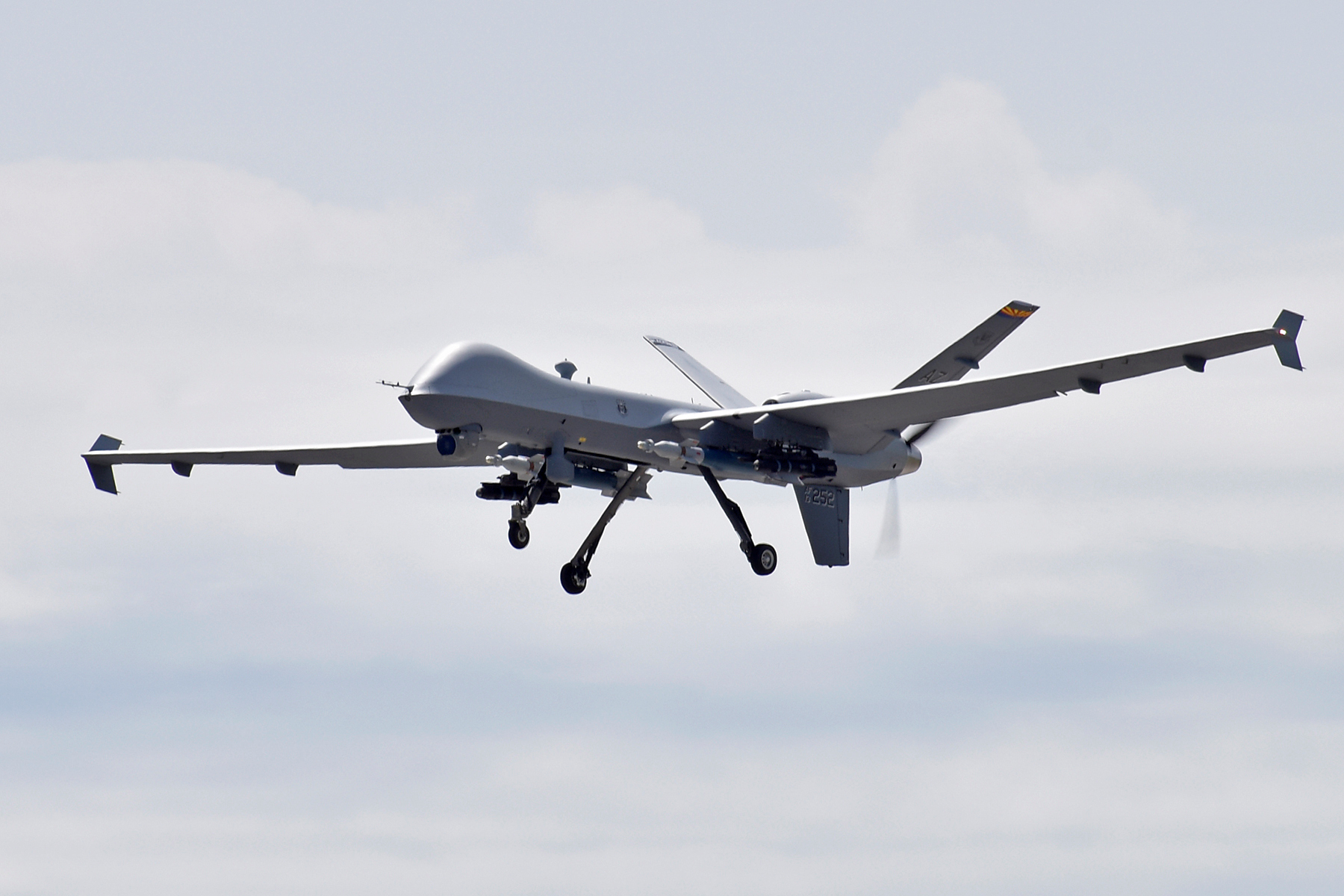 File:MQ-9 Reaper during Exercise Northern Strike 2019.png - Wikimedia  Commons
