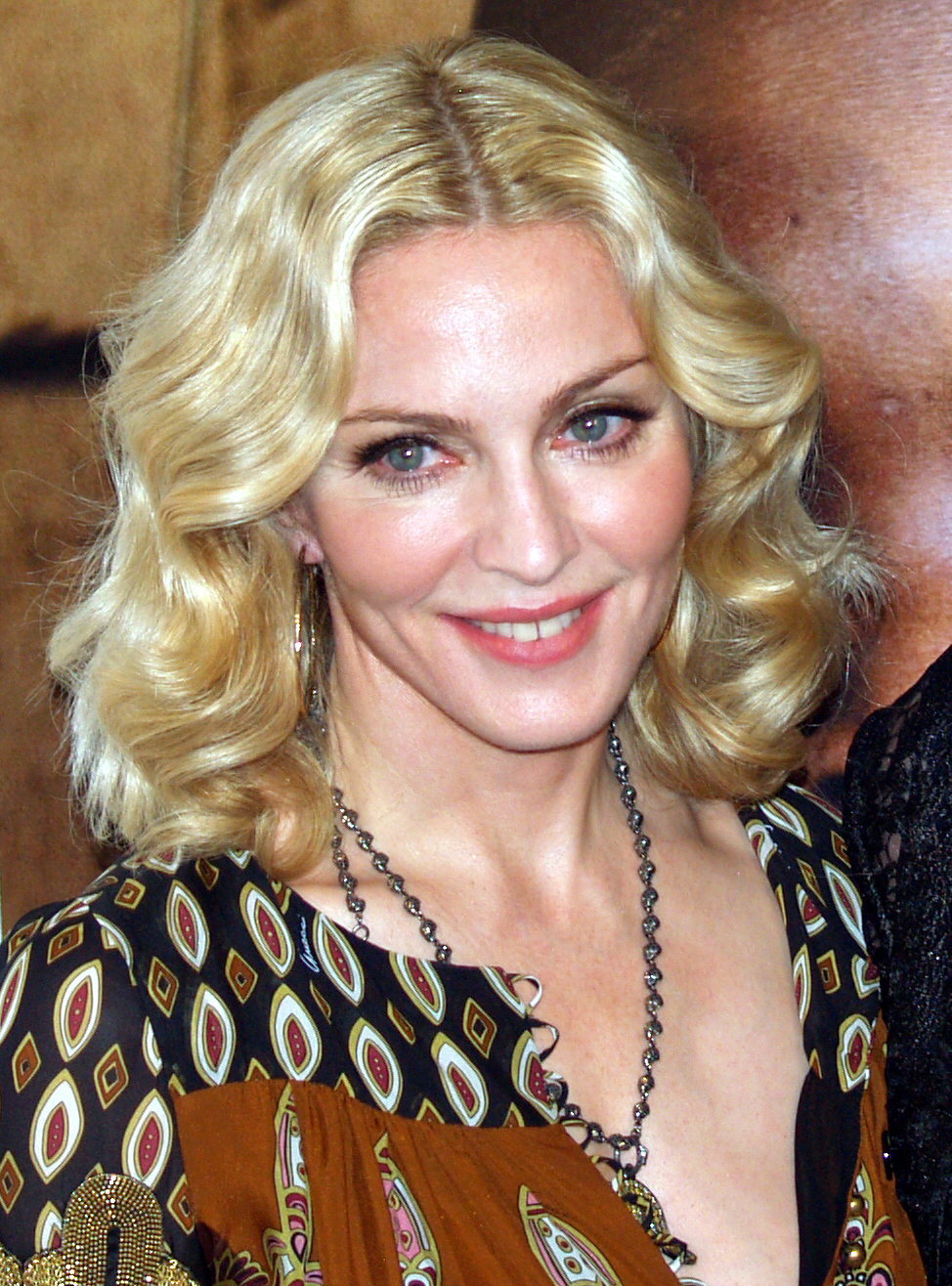 Description Madonna at the premiere of I Am Because We Are.jpg
