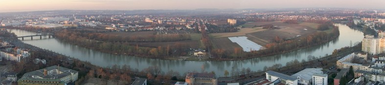 Der Offenbacher Mainbogen