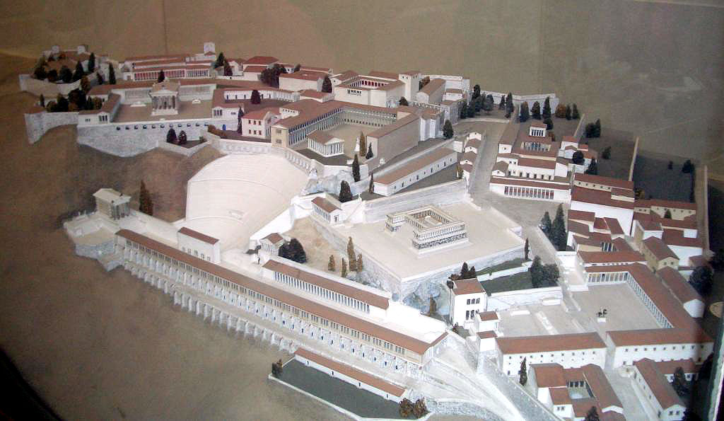 Modell Pergamonmuseum