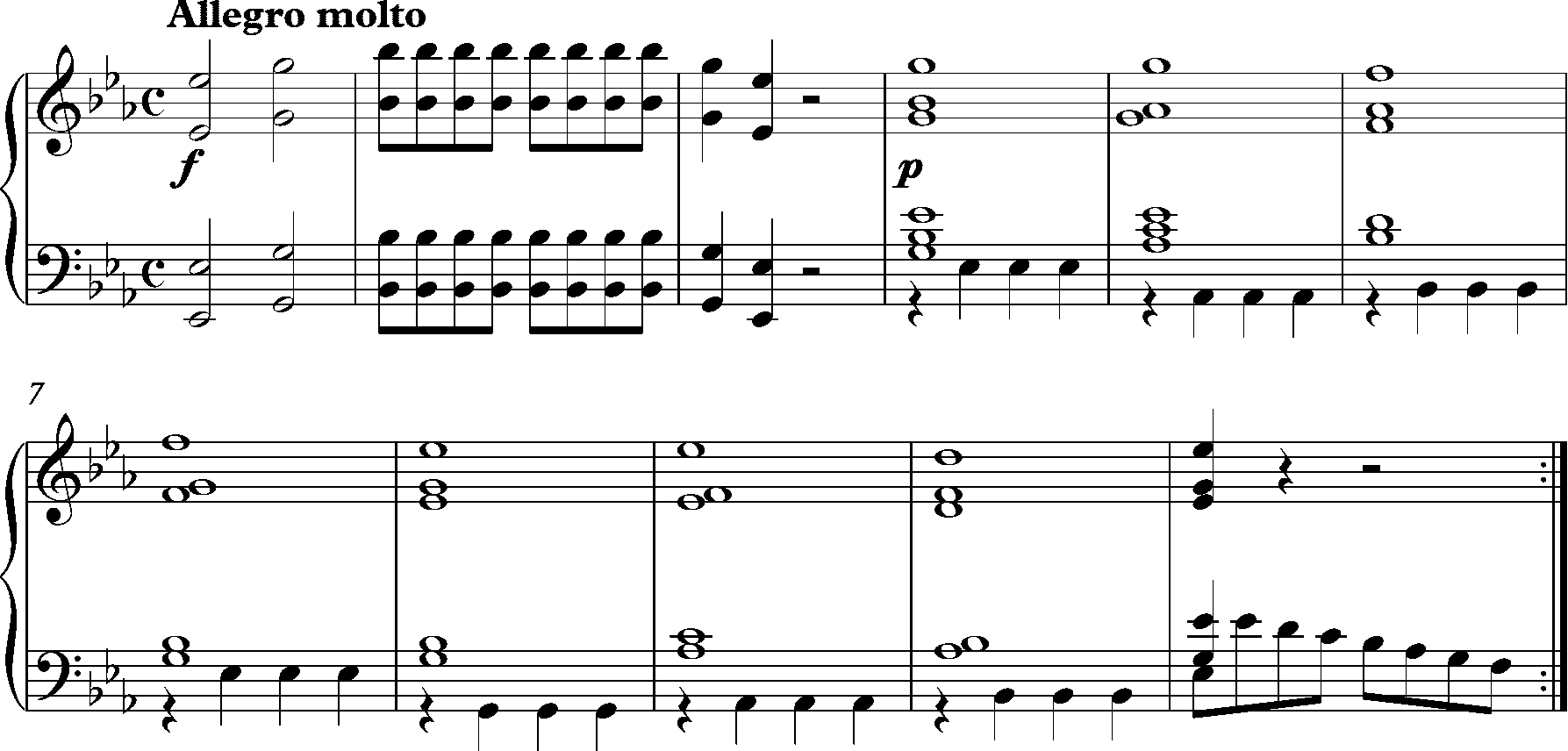File:Mozart, Symphony No  1, K16 opening bars png - Wikimedia Commons
