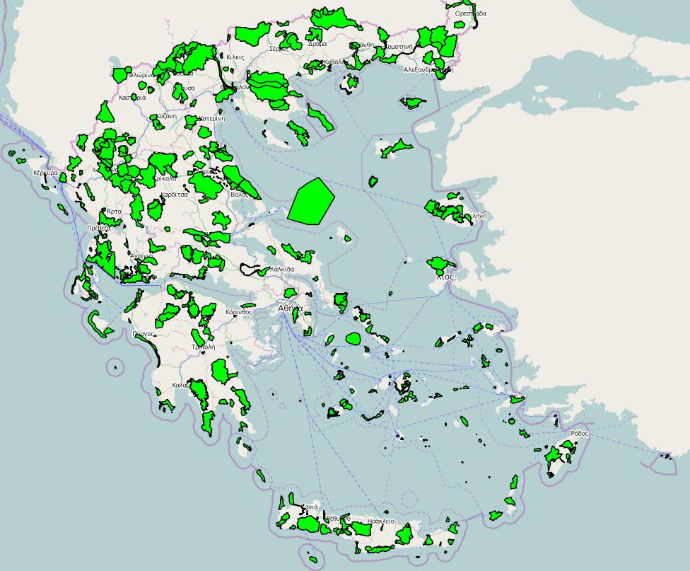 Αρχείο:Natura 2000 areas in Greece.png - Βικιπαίδεια