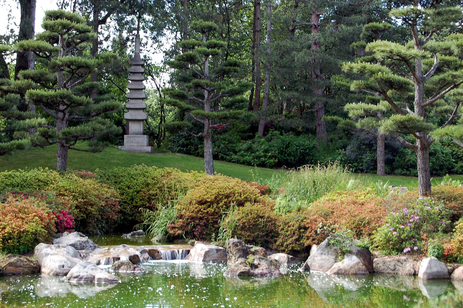 Bepflanzung Japanischer Garten : datei nordpark japanischer garten wikipedia ~ Markanthonyermac.com Haus und Dekorationen