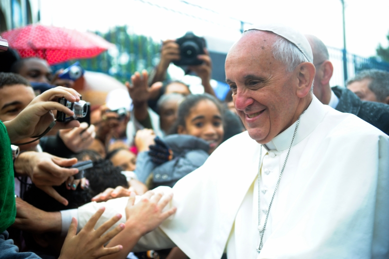 Pope Francis at Vargihna