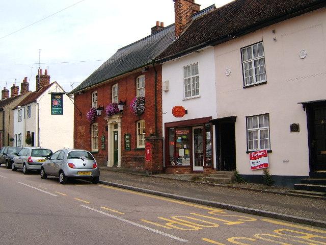 Post Office, Bocking Churchstreet, Braintree - geograph.org.uk - 56963