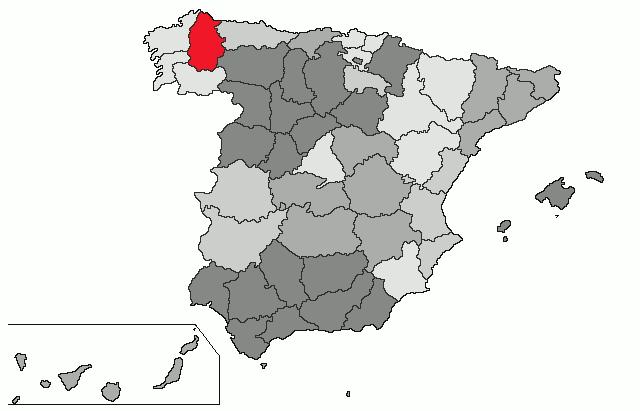 lugo espanha mapa Lugo (província) – Wikipédia, a enciclopédia livre lugo espanha mapa