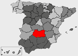 Location of Solana del Pino