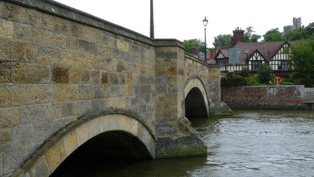 Queen Street bridge at Arundel, West Sussex