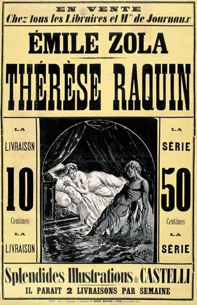 Picture of a book: Therese Raquin
