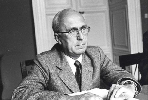 The French science historian René Taton (1915-2004)