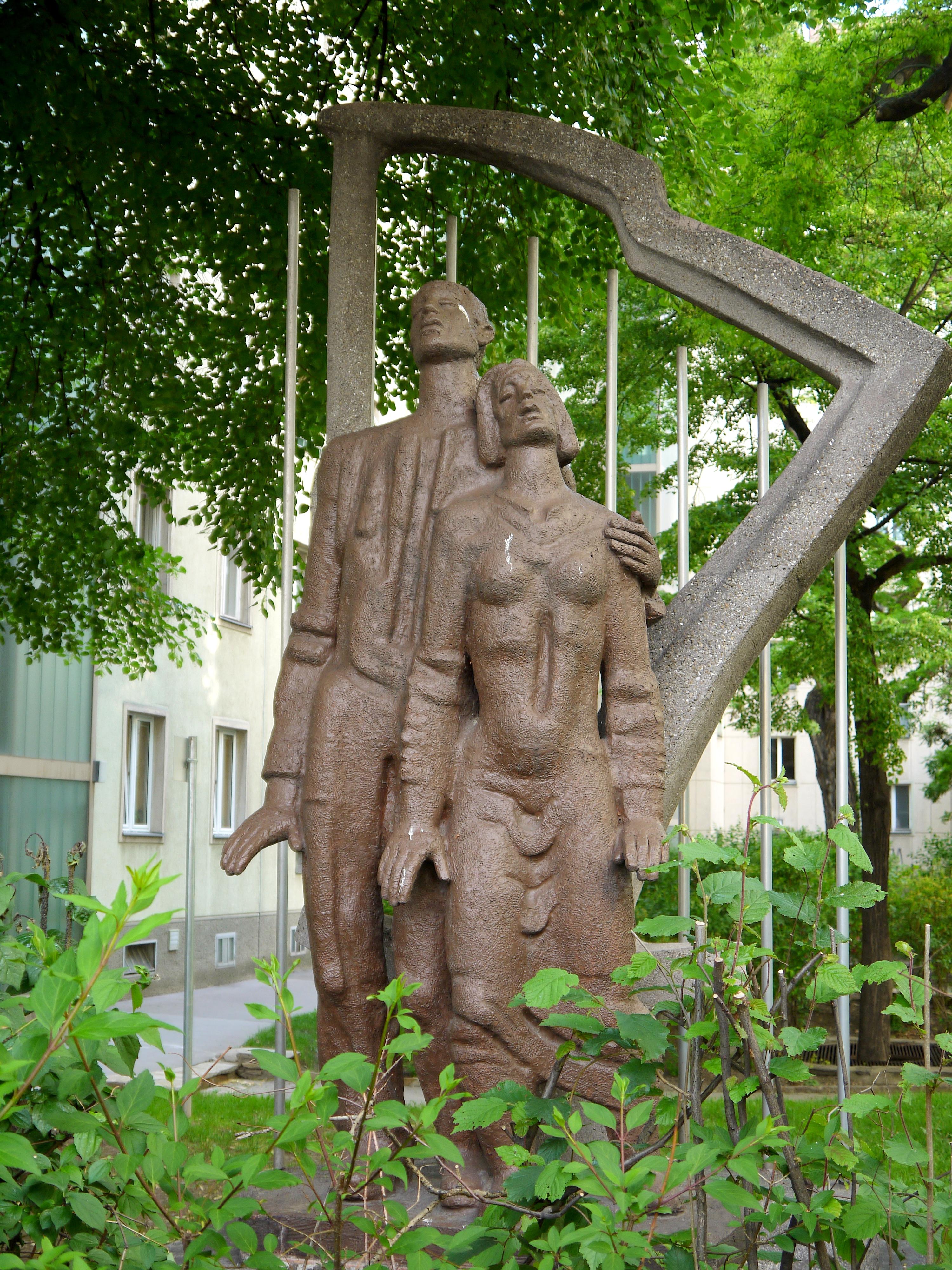 Richard Strauss-Hof Denkmal.JPG