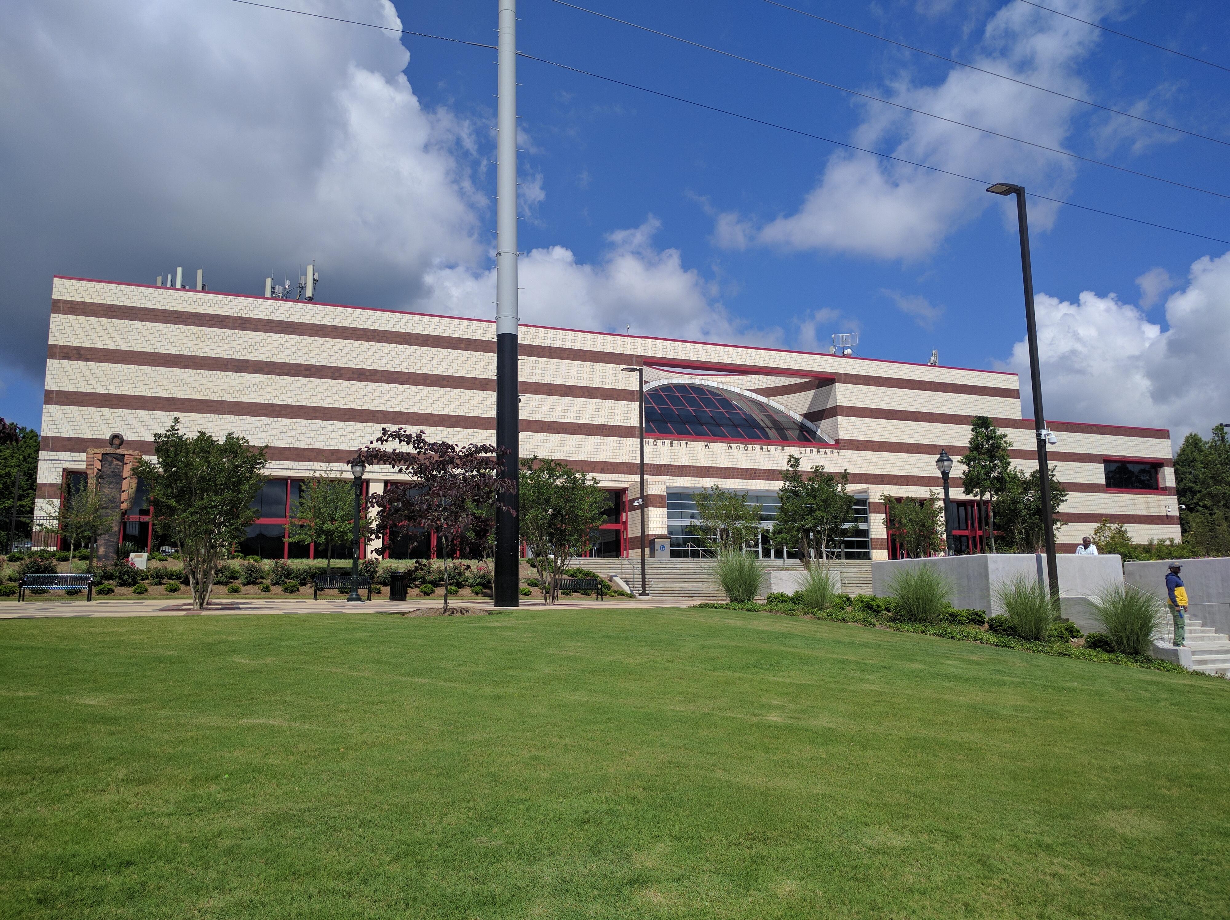 Atlanta University Center >> Robert W Woodruff Library Atlanta University Center