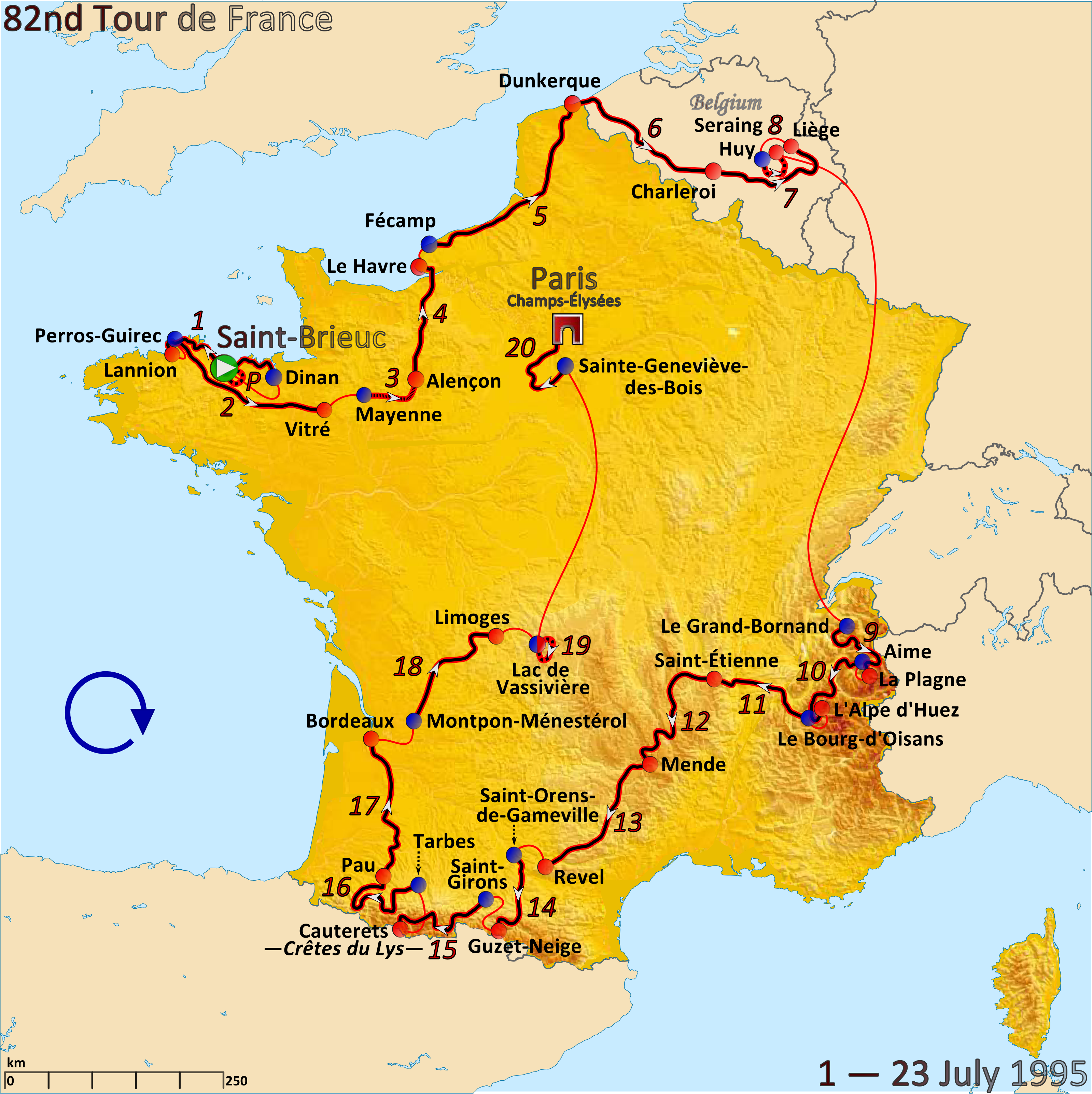 FileRoute of the 1995 Tour de Francepng Wikimedia Commons