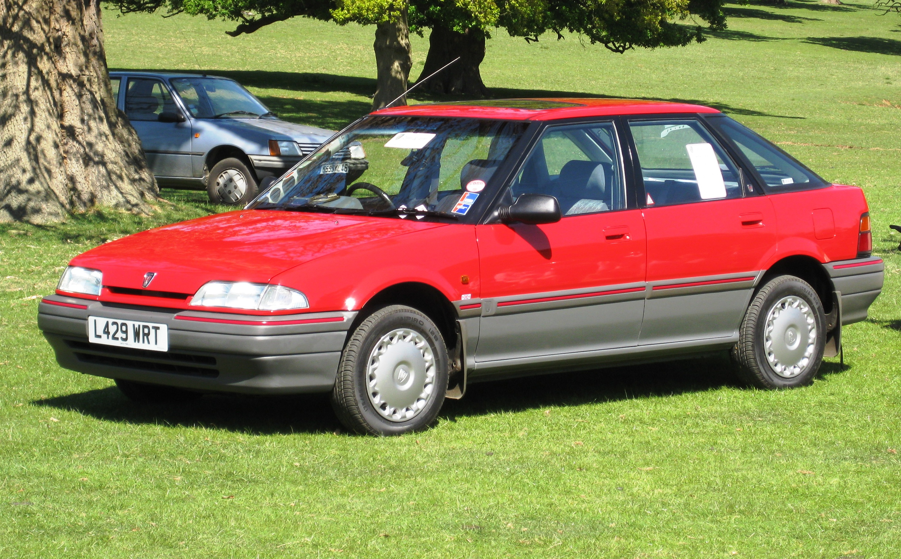 File Rover 214 First Registered In England September 1993