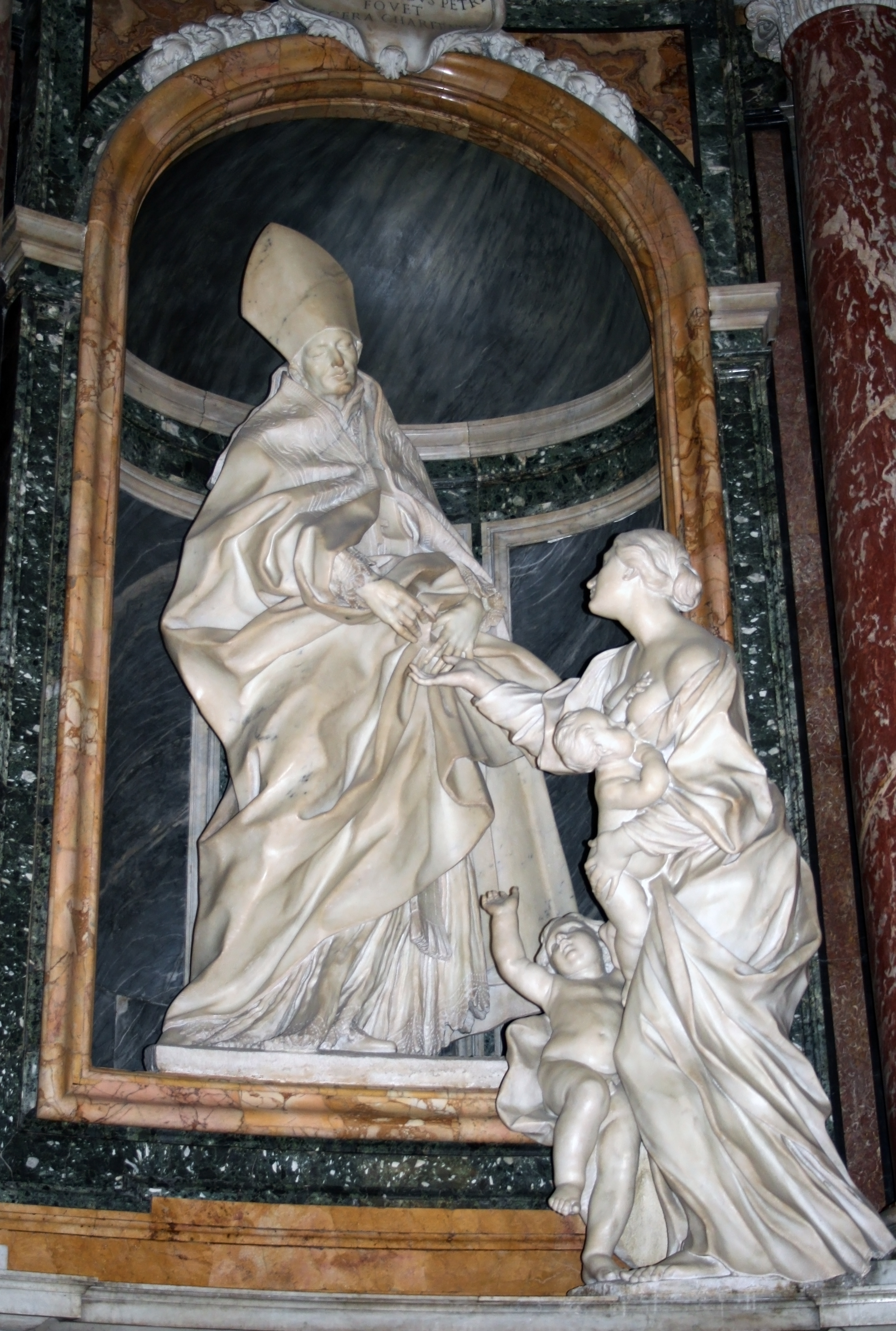 Sant Agostino Roma San Tommaso Da Villanova C Melchiorre Caf