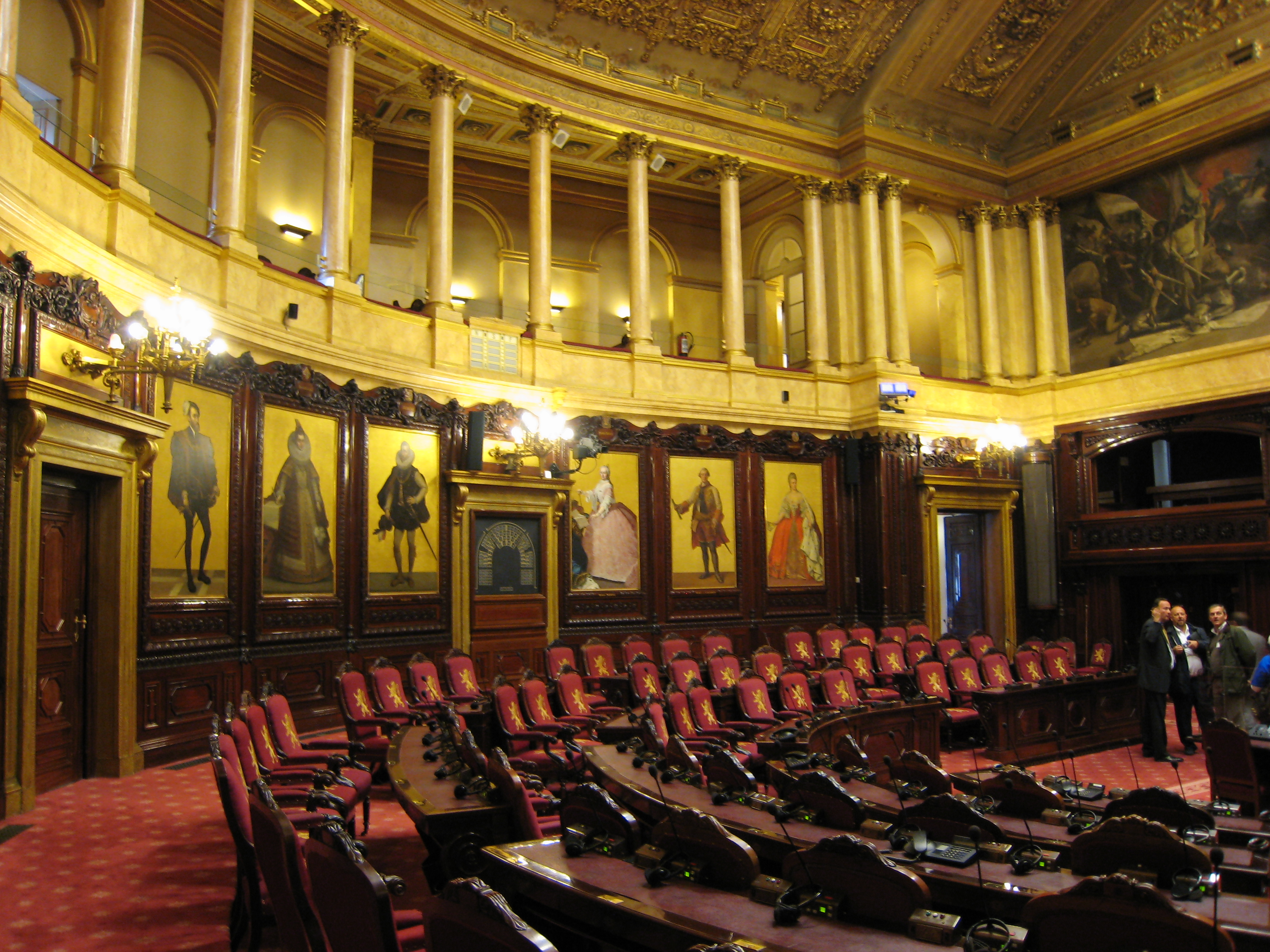 File senat belgique wikimedia commons for Interieur belgium
