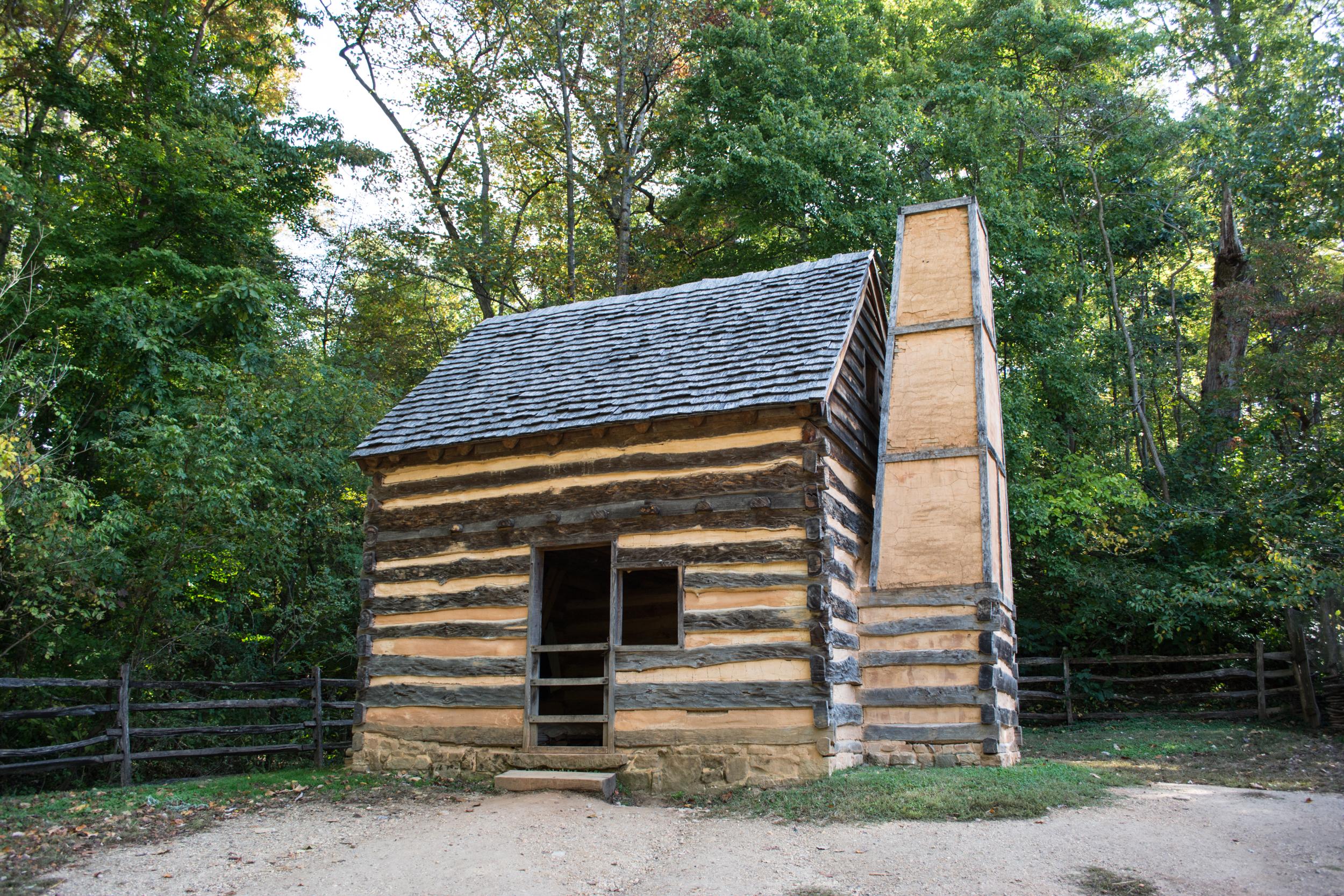 Image result for slave cabin mt vernon
