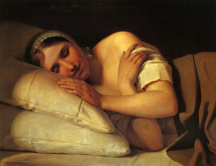 https://upload.wikimedia.org/wikipedia/commons/a/a1/Sleeping_girl_by_Venetsianov.jpeg
