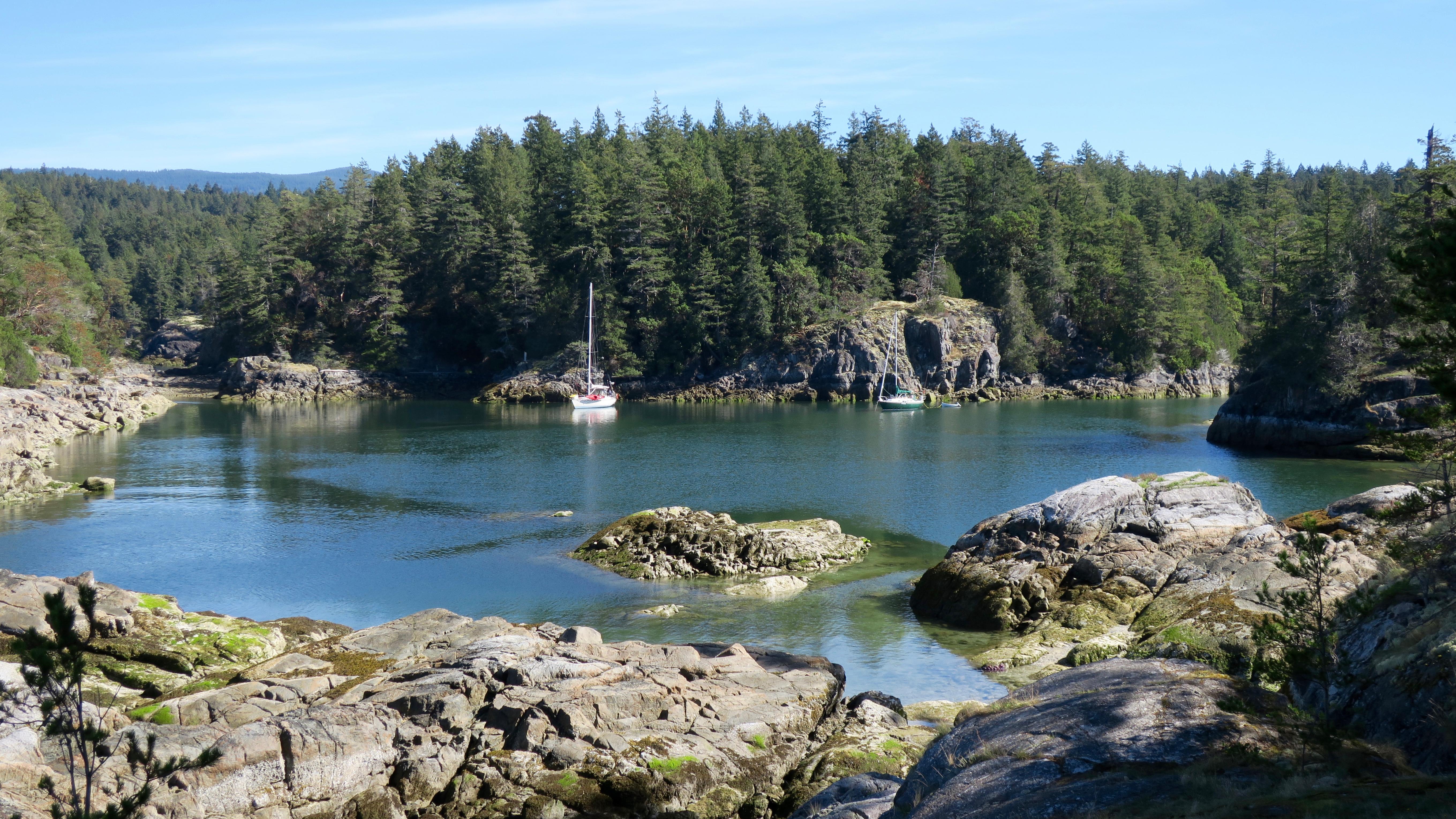 Smuggler Cove Marine Provincial Park - Wikipedia