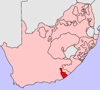 Location of Ciskei