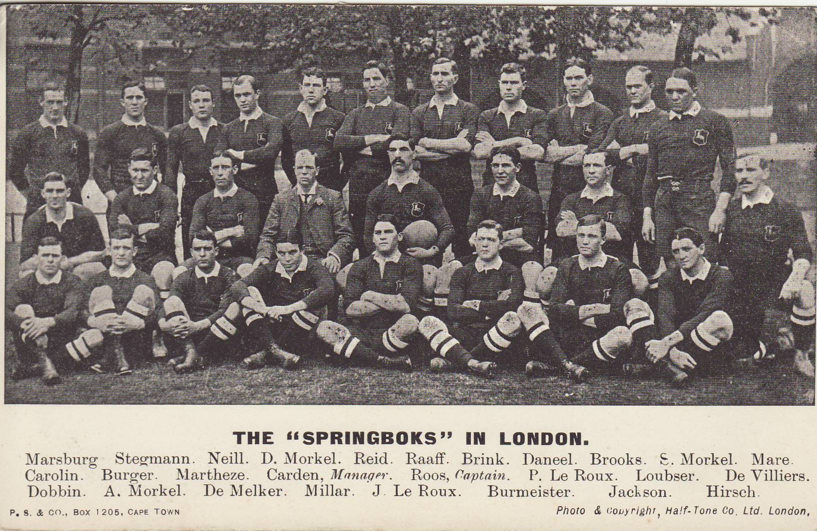 Description Springboks 1906 team.jpg