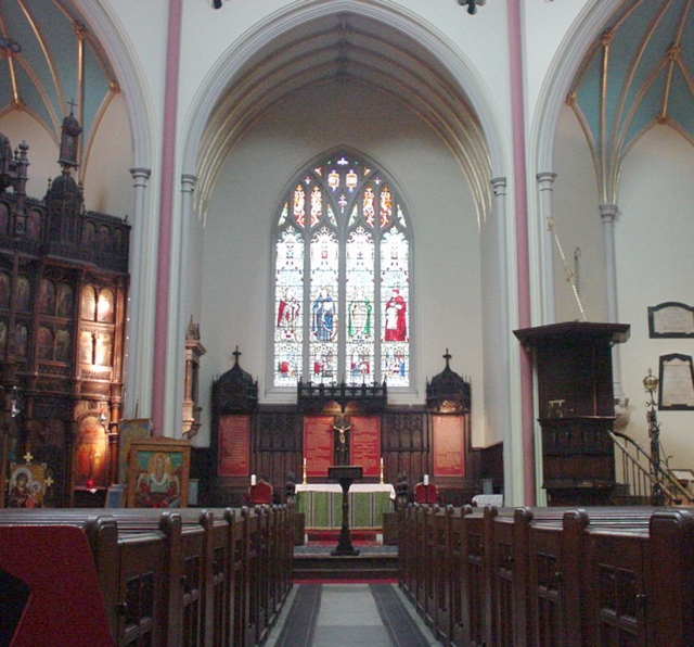 File:St Dunstans In The West Interior.jpg