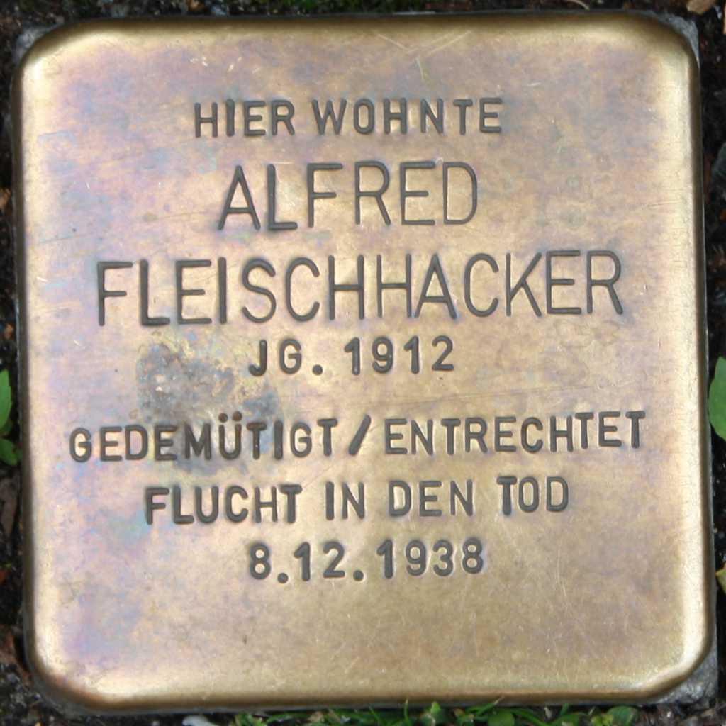 Stolperstein Alfred Fleischhacker Wuppertal.jpg
