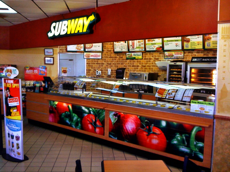 subway restaurant marketing in japan