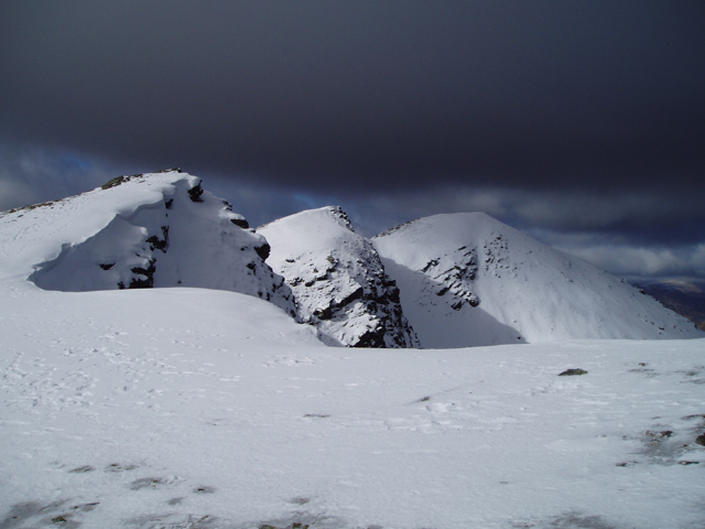 Summit Ridge of Ben Lomond - geograph.org.uk - 133982