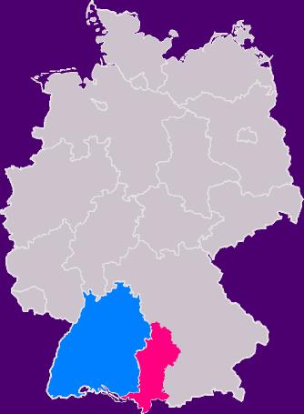 Swabia in Germany