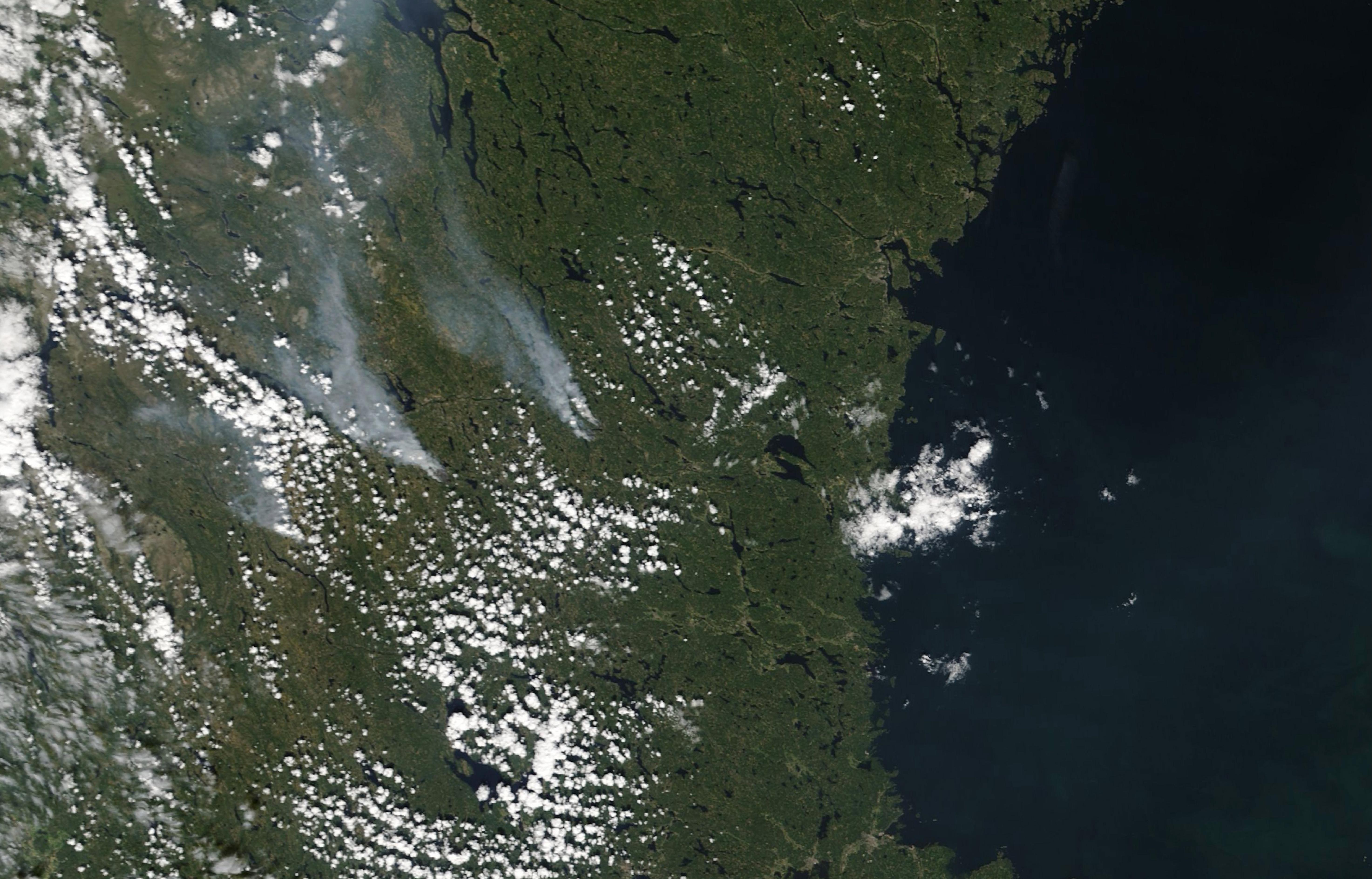 Skogbrannene I Sverige I 2018 Wikipedia
