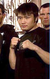 Takanori Gomi Japanese mixed martial artist