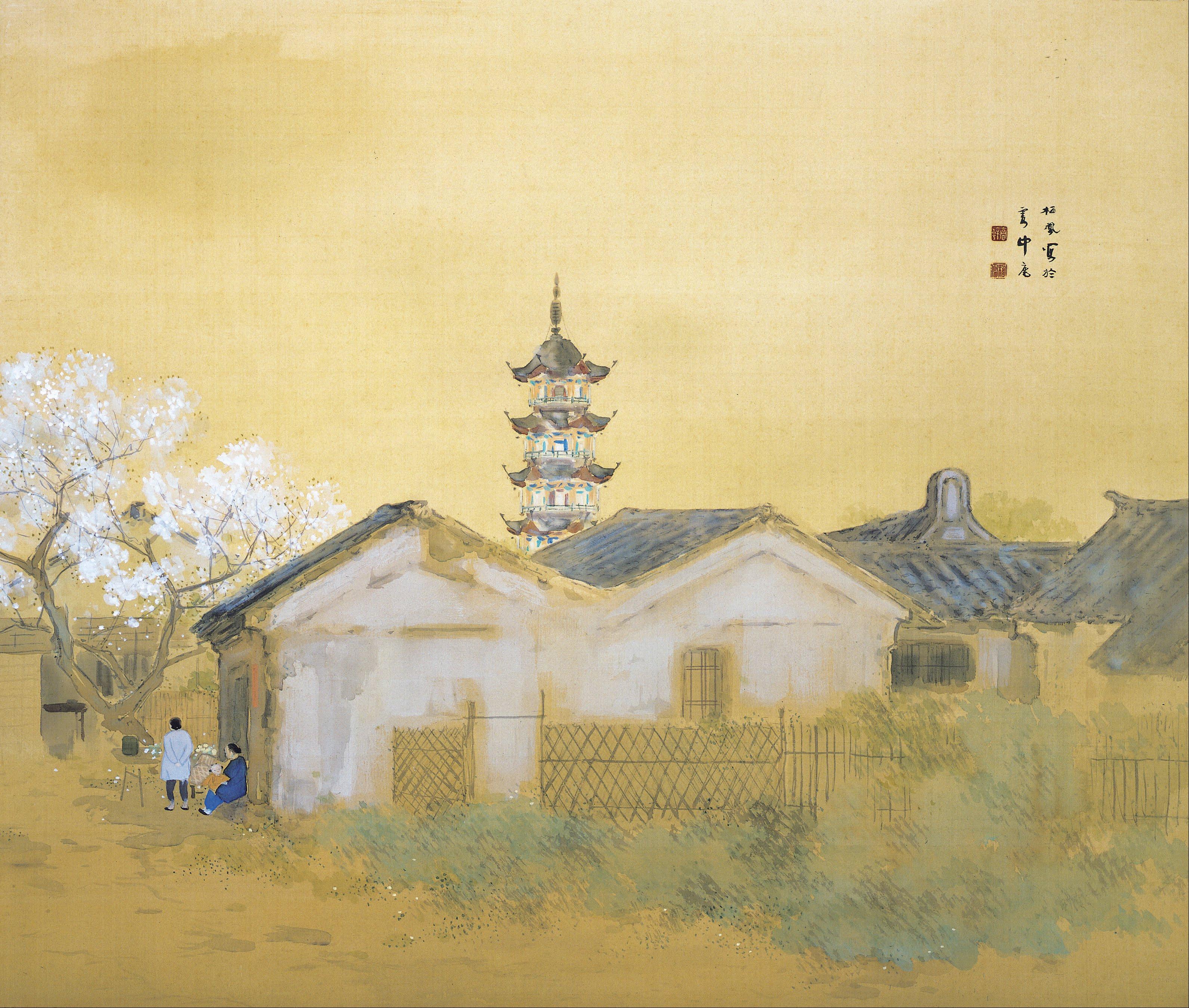 File Takeuchi Seiho Calm Spring In Jiangnan Google Art Project Jpg Wikimedia Commons