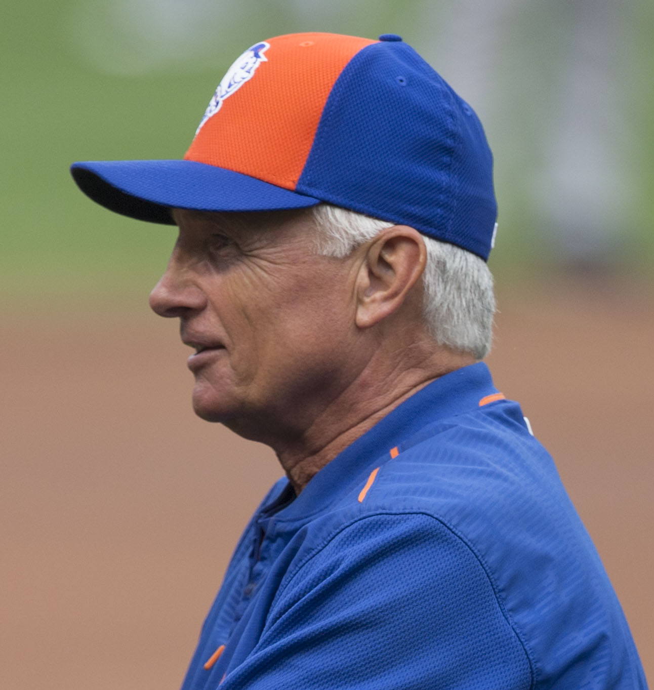 Collins with the New York Mets
