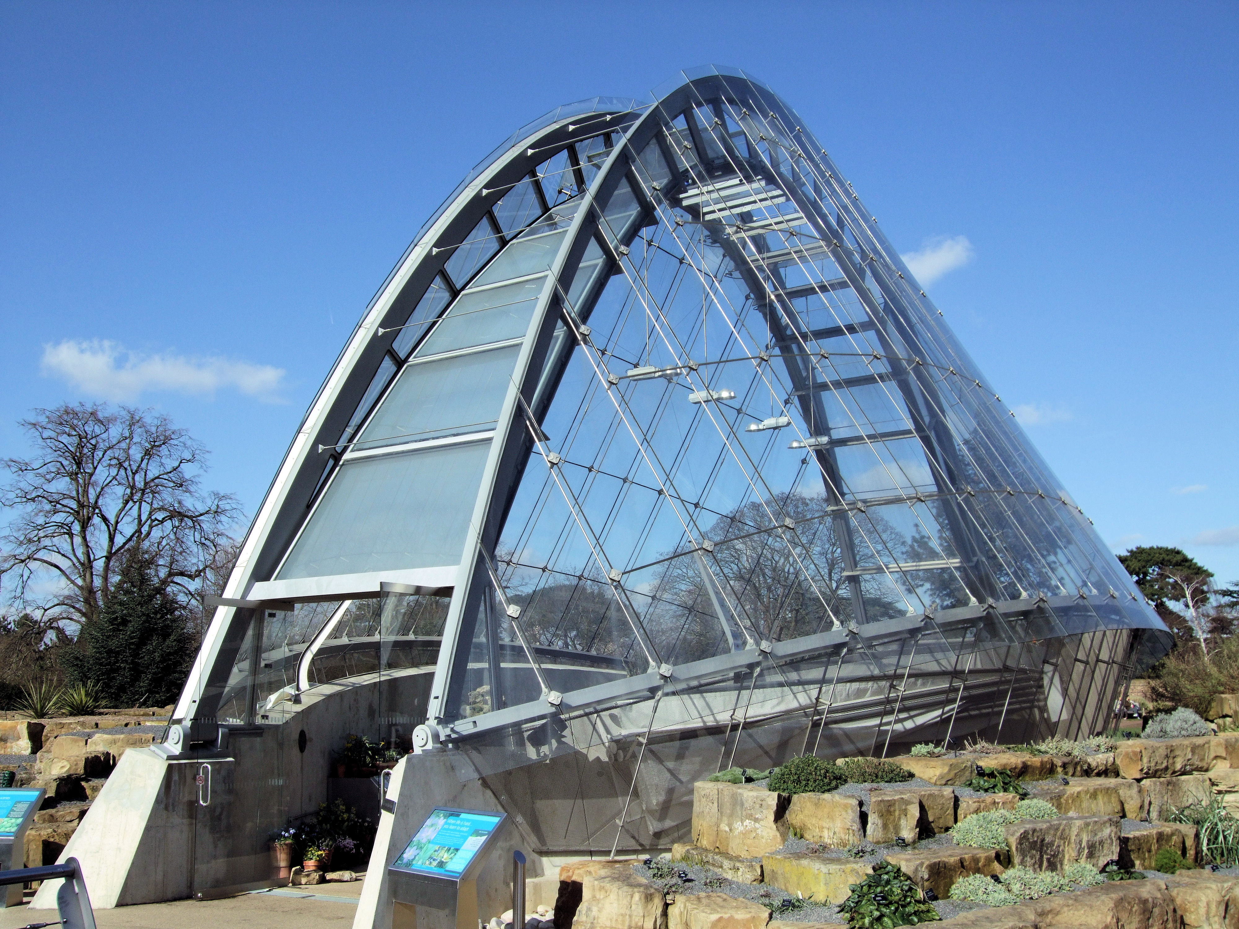 File The Davies Alpine House Kew Gardens London Jpg