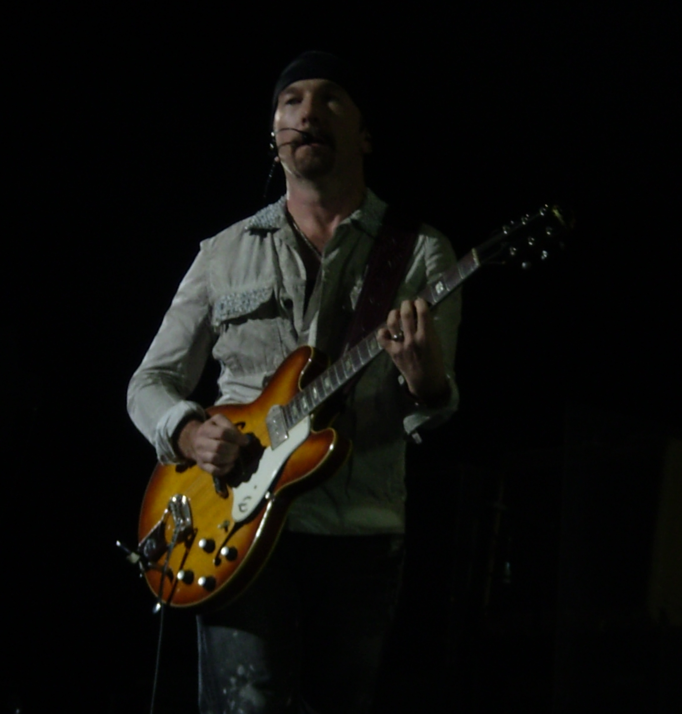 U2's The Edge