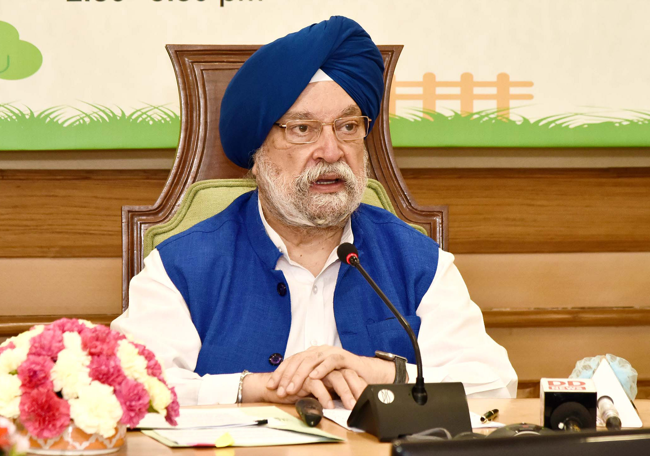 Coronavirus India: Hardeep Singh Puri ruled out calculation of several airline companies which stated normalcy in aviation sector will return in 2023.