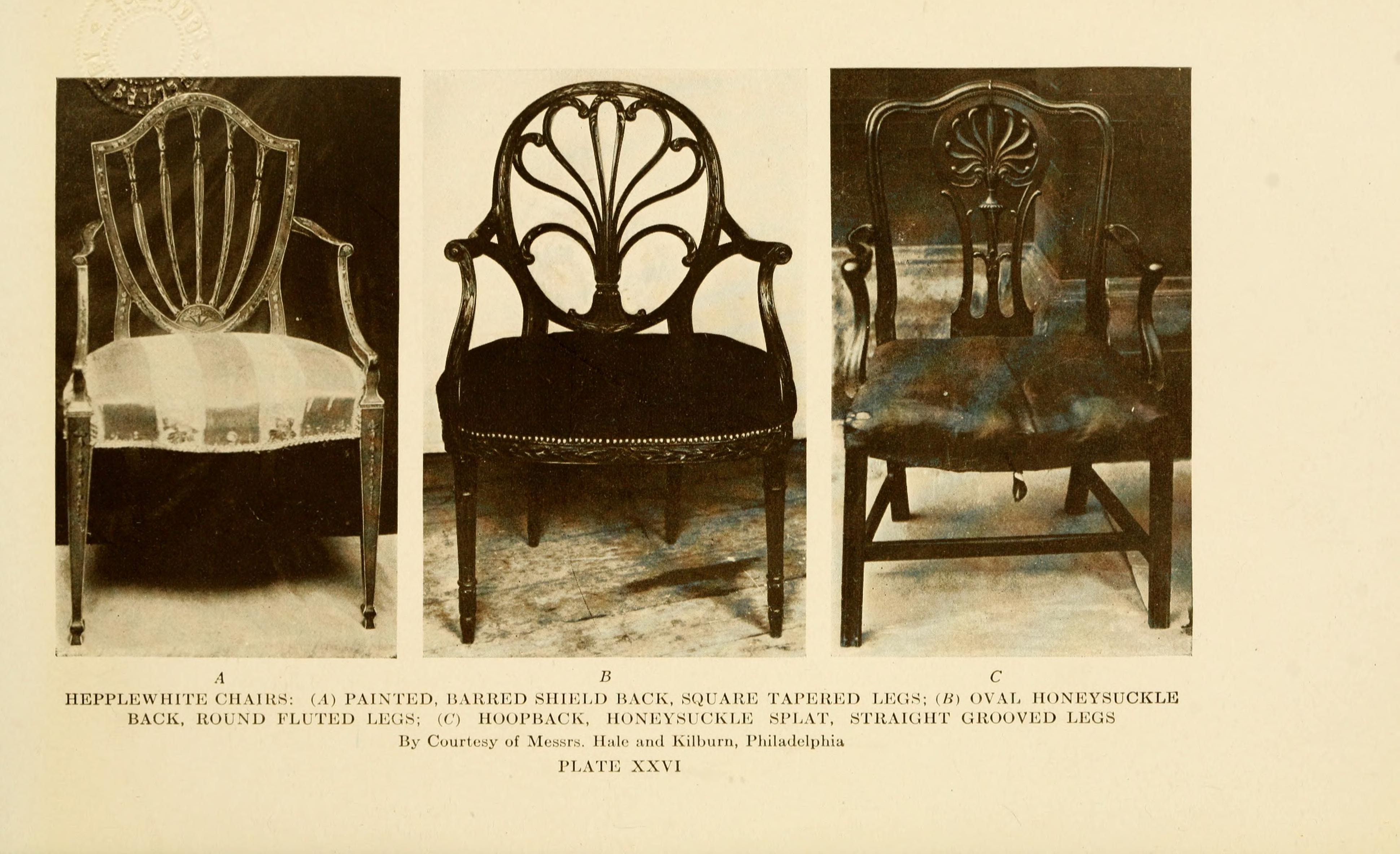 File The Practical Book Of Period Furniture Treating English American Colonial And Post Prinl French Periods 1914
