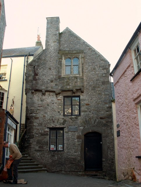 Tudor Merchant's House on Quay Hill, © Robert Edwards