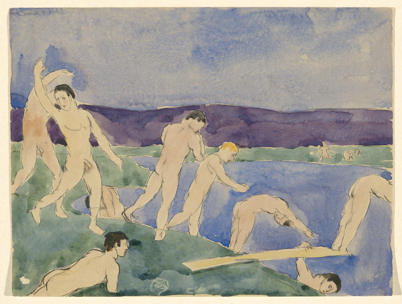 Nude Boys On The Beach