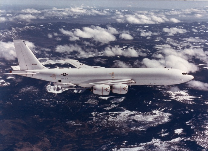 "E-6""水星""空中指揮及通信中繼機"