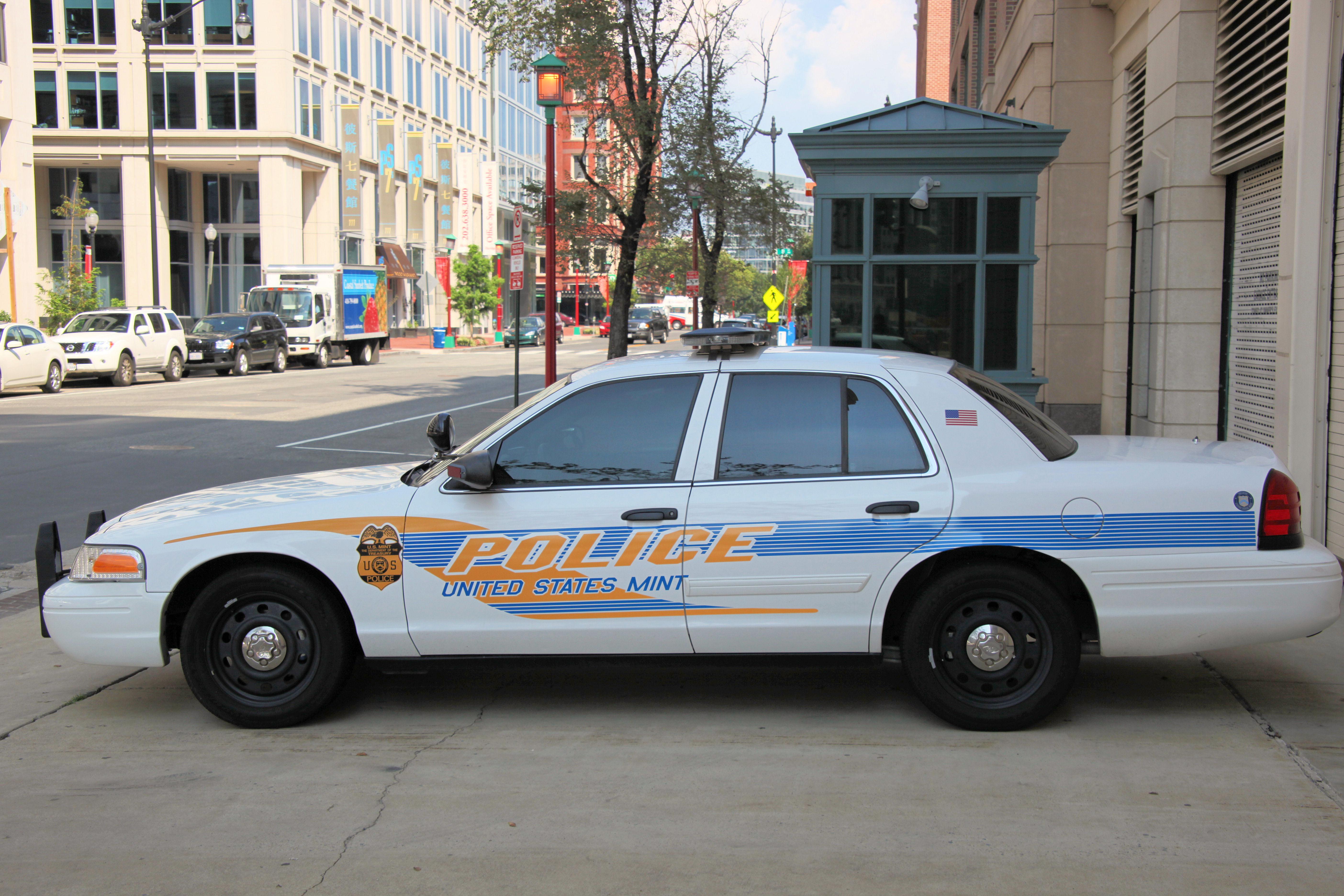 Us Park Police Car