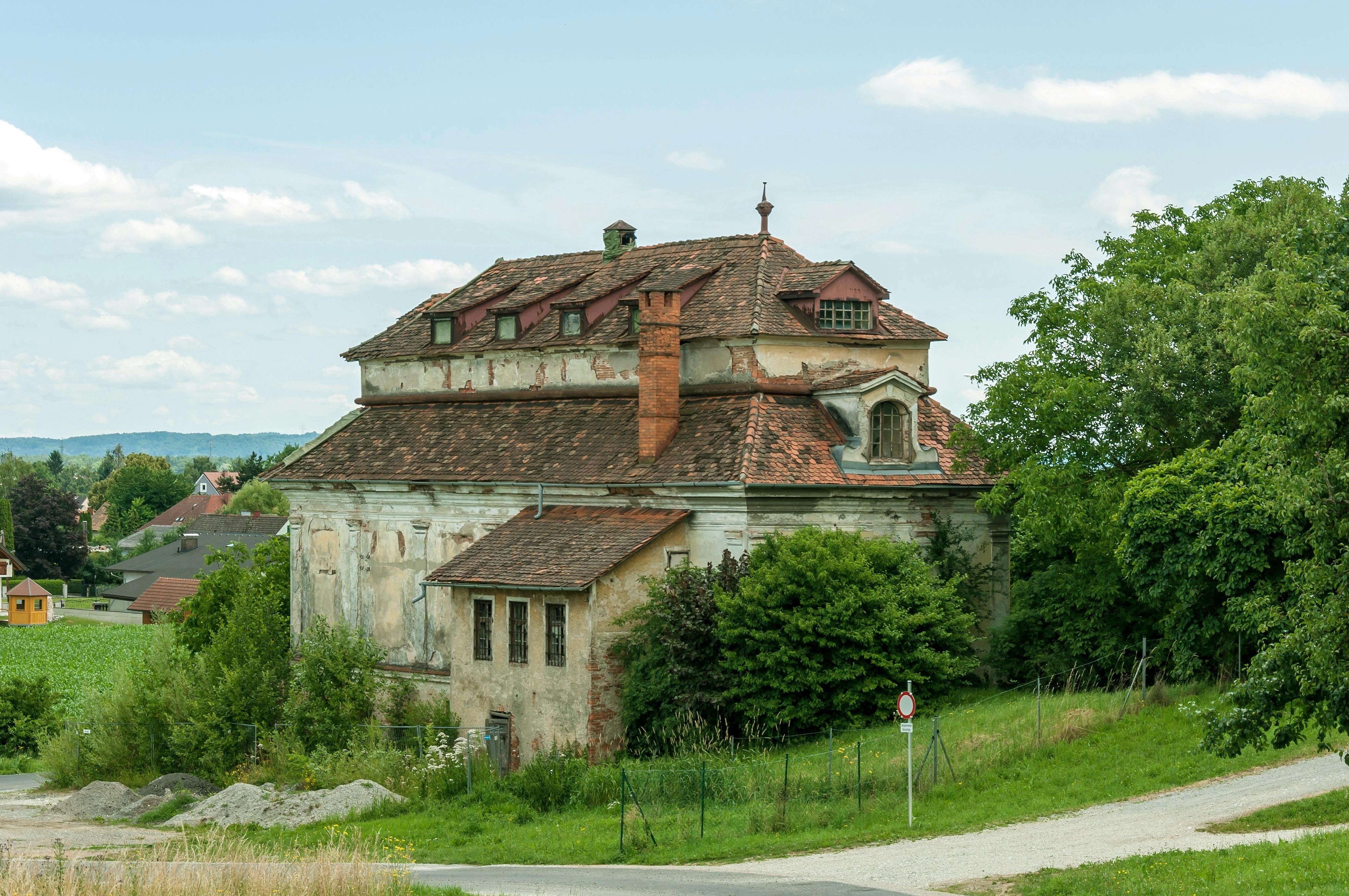 Garten haus  File:Unterpremstätten Schloss Gartenhaus NW.jpg - Wikimedia Commons